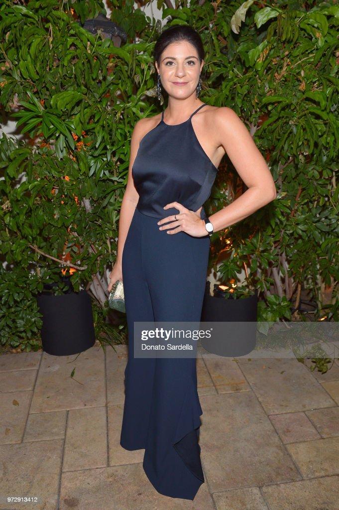 Maria Giulia Maramotti, wearing Max Mara, attends the Max Mara Celebration for Alexandra Shipp, 2018 Women In Film Max Mara Face Of The Future Award Recipient at Chateau Marmont on June 12, 2018 in Los Angeles, California.
