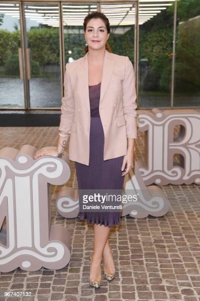 Maria Giulia Prezioso Maramotti attends Max Mara Resort Show 2019 at Collezione Maramotti on June 4 2018 in Reggio nell'Emilia Italy