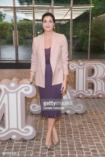 Maria Giulia Prezioso Maramotti wearing Max Mara attends Max Mara Resort Show 2019 at Collezione Maramotti on June 4 2018 in Reggio nell'Emilia Italy