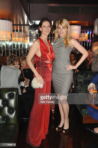 Maria Grachvogel and Meredith Ostrom during Maria Grachvogel Hosts a Party to Celebrate the 5th Anniversary of her Sloane Street Store at Sloane...