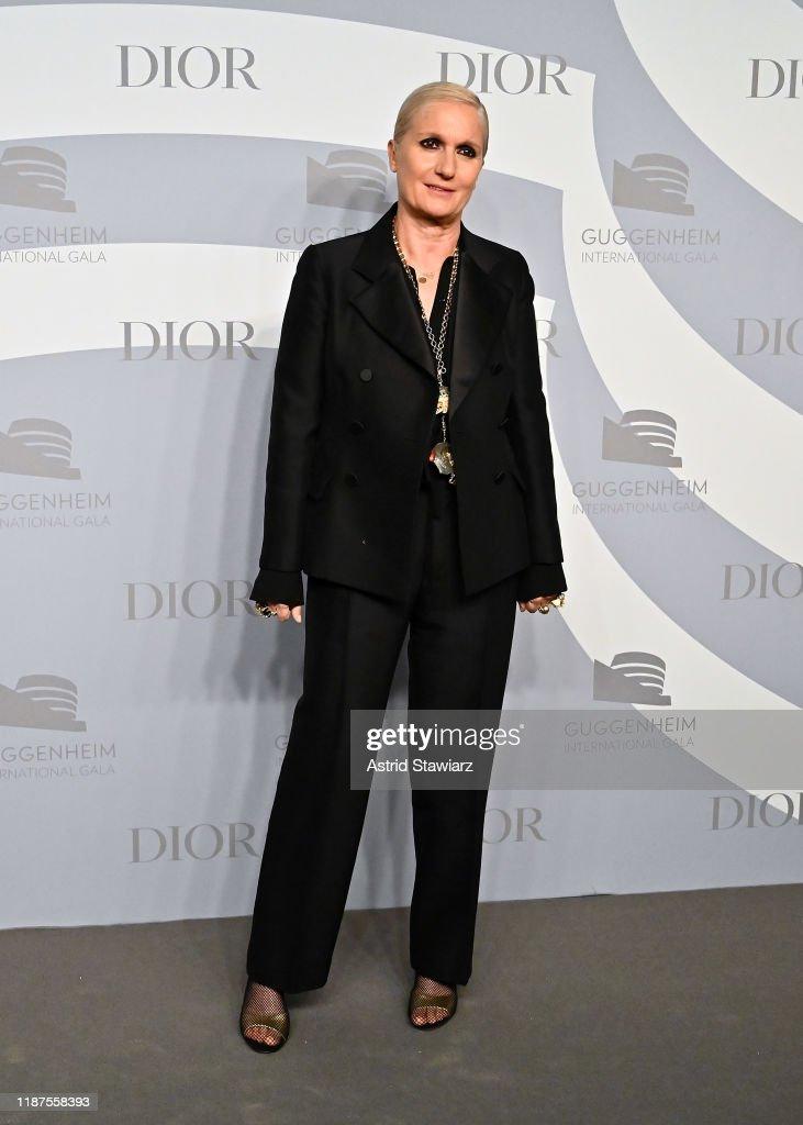 2019 Guggenheim International Gala Pre-Party : News Photo