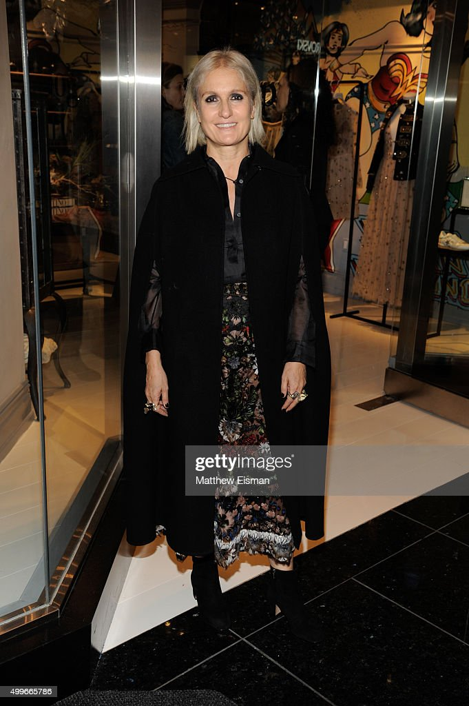 Maria Grazia Chiuri attends the goop mrkt grand opening event at The Shops at Columbus Circle on December 2, 2015 in New York City.
