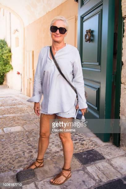 Maria Grazia Chiuri is seen on September 2 2018 in Noto Italy