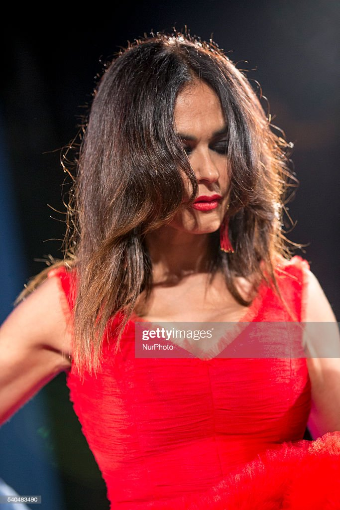 Maria Grazia Cucinotta attends 62 Taormina Film Fest - Day 5 on June 15, 2016 in Taormina, Italy.
