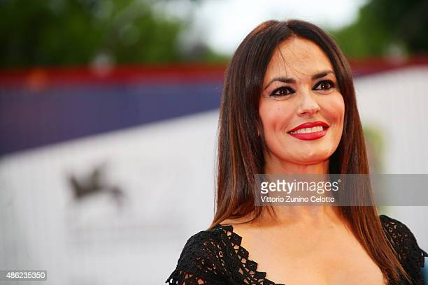 Maria Grazia Cucinotta attends the opening ceremony and premiere of 'Everest' during the 72nd Venice Film Festival on September 2, 2015 in Venice,...