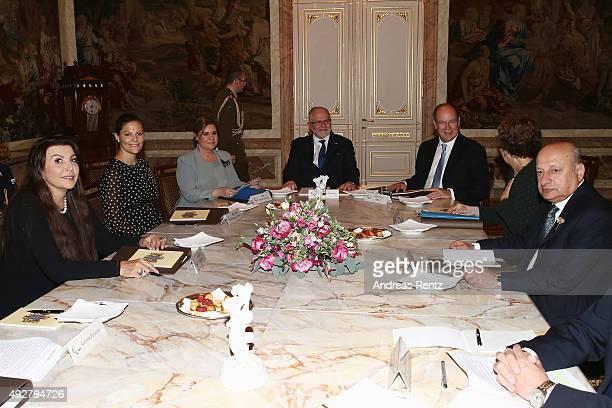 Maria Guleghina Crown Princess Victoria of Sweden Grand Duchess Maria Teresa of Luxembourg Sir Philip Craven Prince Albert II of Monaco and other...