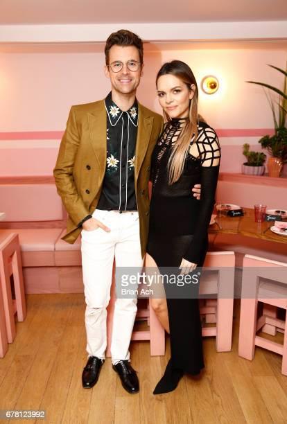 Maria Hatzistefanis and Brad Goreski host Rodial VIP Dinner on May 3 2017 in New York City