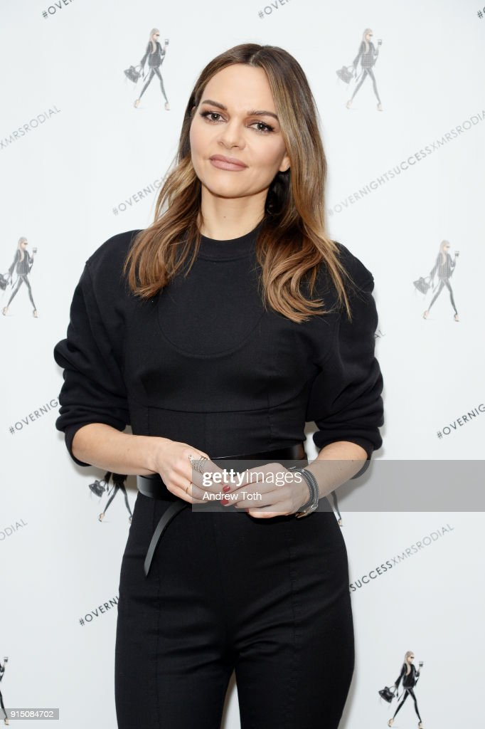 Maria Hatzistefanis attends the launch of How To Be An Overnight Success at Crosby Street Hotel on February 6, 2018 in New York City.