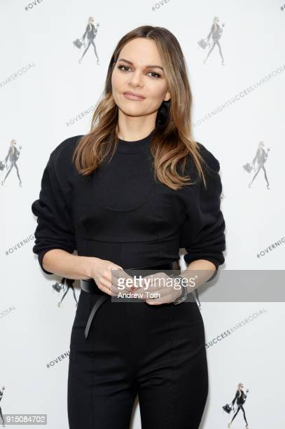 Maria Hatzistefanis attends the launch of How To Be An Overnight Success at Crosby Street Hotel on February 6 2018 in New York City