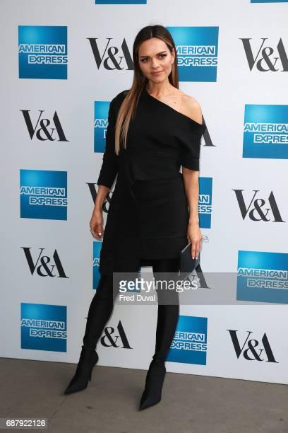 Maria Hatzistefanis attends The VA Opens Spring 2017 Fashion Exhibition Balenciaga Shaping Fashion at The VA on May 24 2017 in London England