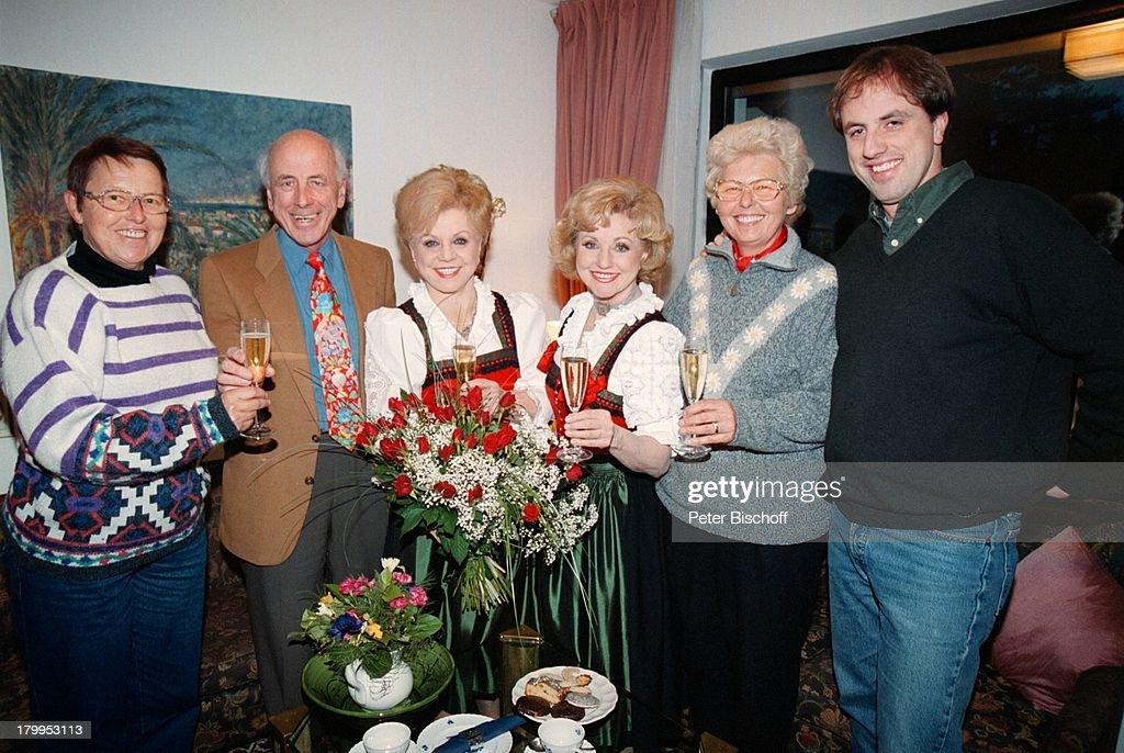 foto de Maria Hellwig mit ihren Gästen,;Inge Rostalski, Schwiegersohn ...