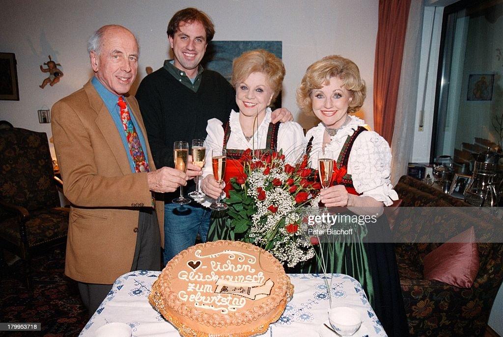 foto de Maria Hellwig, Tochter Margot Hellwig ,;Enkel Georg, Schwiegersohn ...