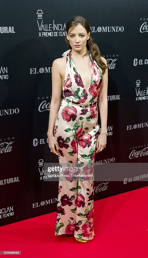 Maria Hervas attends the Valle-Inclan Theatre Awards at Teatro Real on April 11, 2016 in Madrid, Spain.