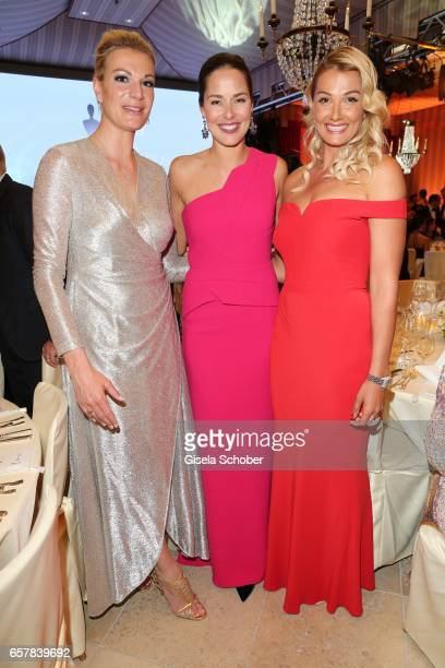 Maria HoeflRiesch Ana Ivanovic and Franziska van Almsick during the Gala Spa Awards at Brenners ParkHotel Spa on March 25 2017 in BadenBaden Germany