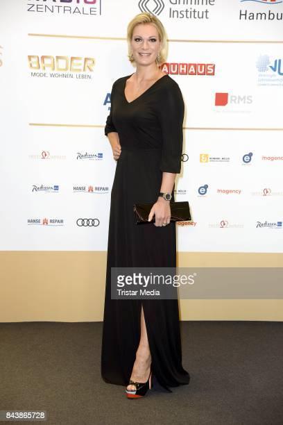 Maria HoeflRiesch attends the Deutscher Radiopreis at Elbphilharmonie on September 7 2017 in Hamburg Germany
