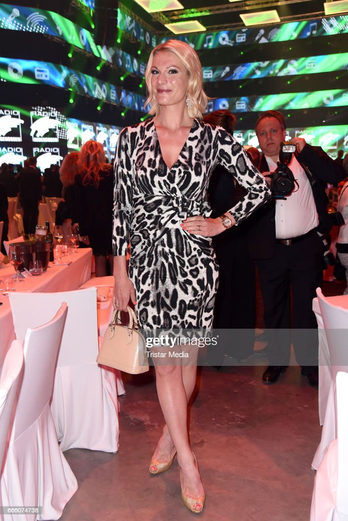 Maria Hoefl-Riesch attends the Radio Regenbogen Award 2017 After Party at Europa-Park on April 7, 2017 in Rust, Germany.