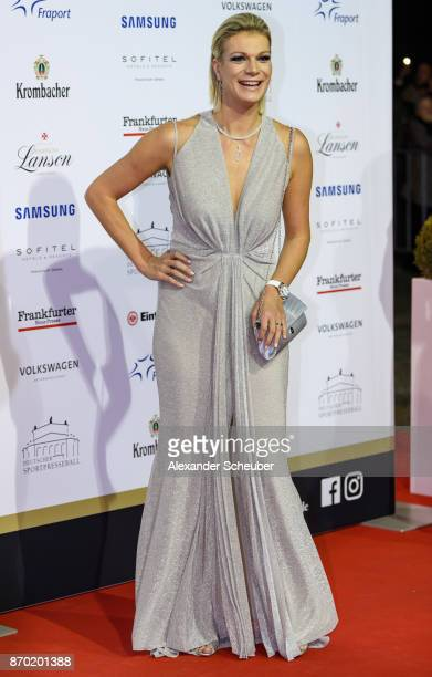 Maria HoeflRiesch is seen during the German Sports Media Ball at Alte Oper on November 4 2017 in Frankfurt am Main Germany