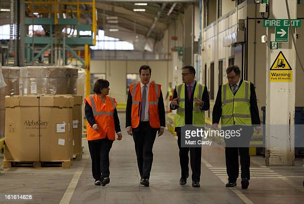 Maria Hutchings accompanies Chancellor George Osborne as he takes a visit to the Prysmian Group factory and speaks to factory manager Steve Price and...