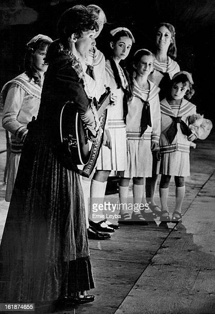 JUL 10 1972 JUL 11 1972 Maria introduces herself to the Von Trapp children She is singing Do Re Me The presentation by the Denver Opera Foundation...