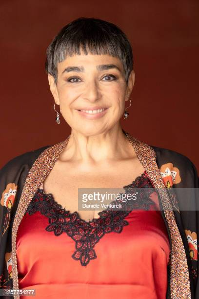 Maria Isabel Diaz Lago attends the Press Conference during the Filming Italy Sardegna Festival 2020 on July 23 2020 in Cagliari Italy