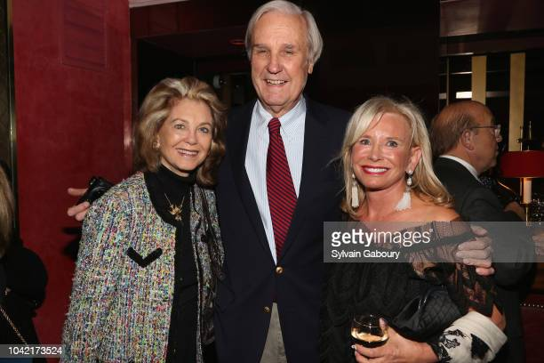 Maria Janice David Patrick Columbia and Sharon Bush attend David Patrick Columbia And Chris Meigher Toast The QUEST 400 At DOUBLES on September 27...