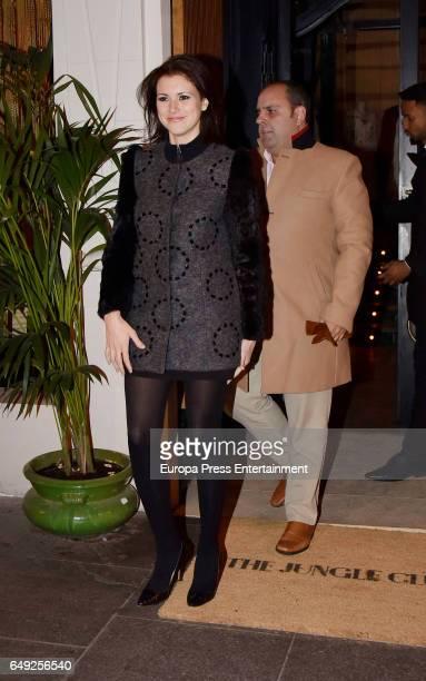Maria Jesus Ruiz and Julio Ruz are seen on January 11 2017 in Madrid Spain