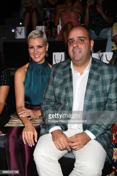 Maria Jesus Ruiz and Julio Ruz attend the Hannibal Laguna show at Mercedes Benz Fashion Week Madrid Spring/ Summer 2019 on July 10 2018 in Madrid...