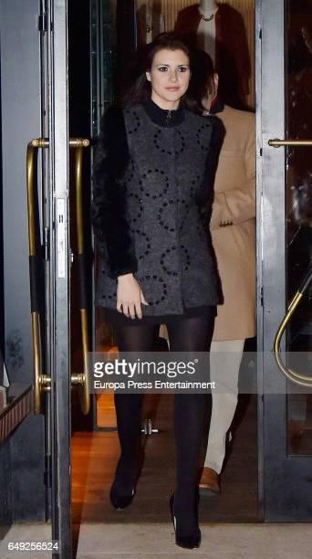 Maria Jesus Ruiz is seen on January 11 2017 in Madrid Spain