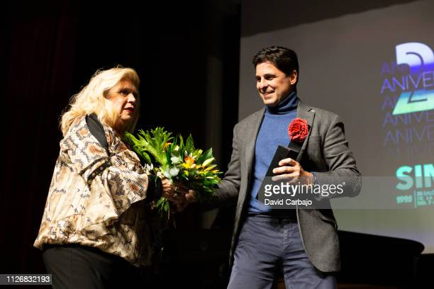 Maria Jimenez and Francisco Rivera attend the SIMOF Gala 25th Anniversary awards on February 01 2019 in Seville Spain