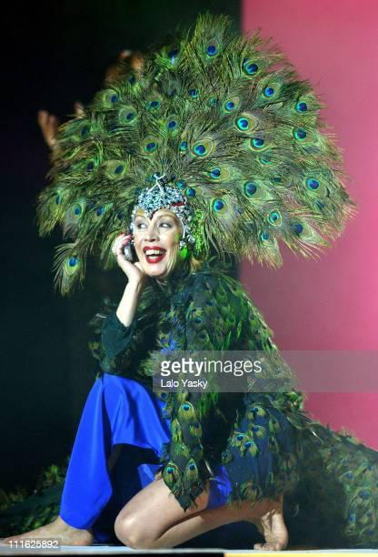 Maria Jimenez during 49th Onda Awards Barcelona at Tivoli Theater in Barcelona Spain