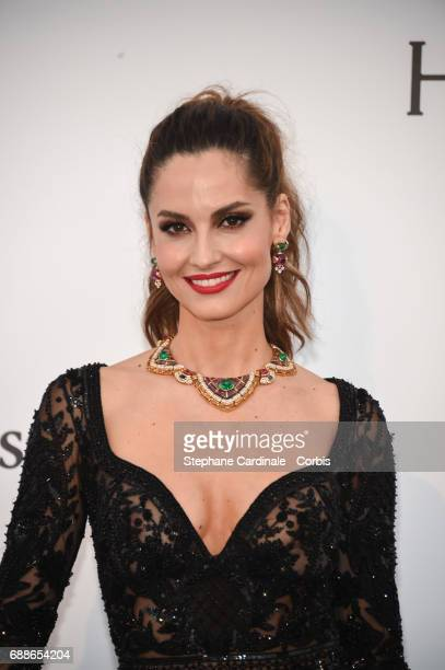 Maria Joao Bastos arrives at the amfAR Gala Cannes 2017 at Hotel du CapEdenRoc on May 25 2017 in Cap d'Antibes France