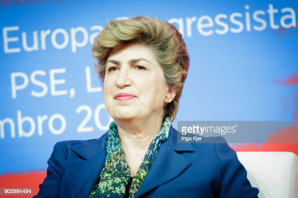 Maria Joao Rodrigues MEP and Vice President of the SD Group and President of FEPS in the course of the PES party congress on December 01 2017 in...