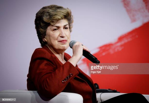 Maria Joao Rodrigues MEP and Vice President of the SD Group and President of FEPS in the course of the PES party congress on December 02 2017 in...