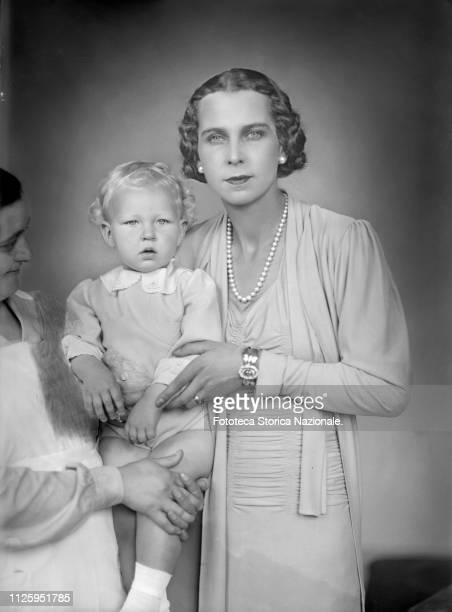 Maria José of Belgium Marie José Carlotta Sophia Amelia Enrichetta Gabriella of Saxe Coburg-Gotha, Princess consort of Piedmont as wife of the future...