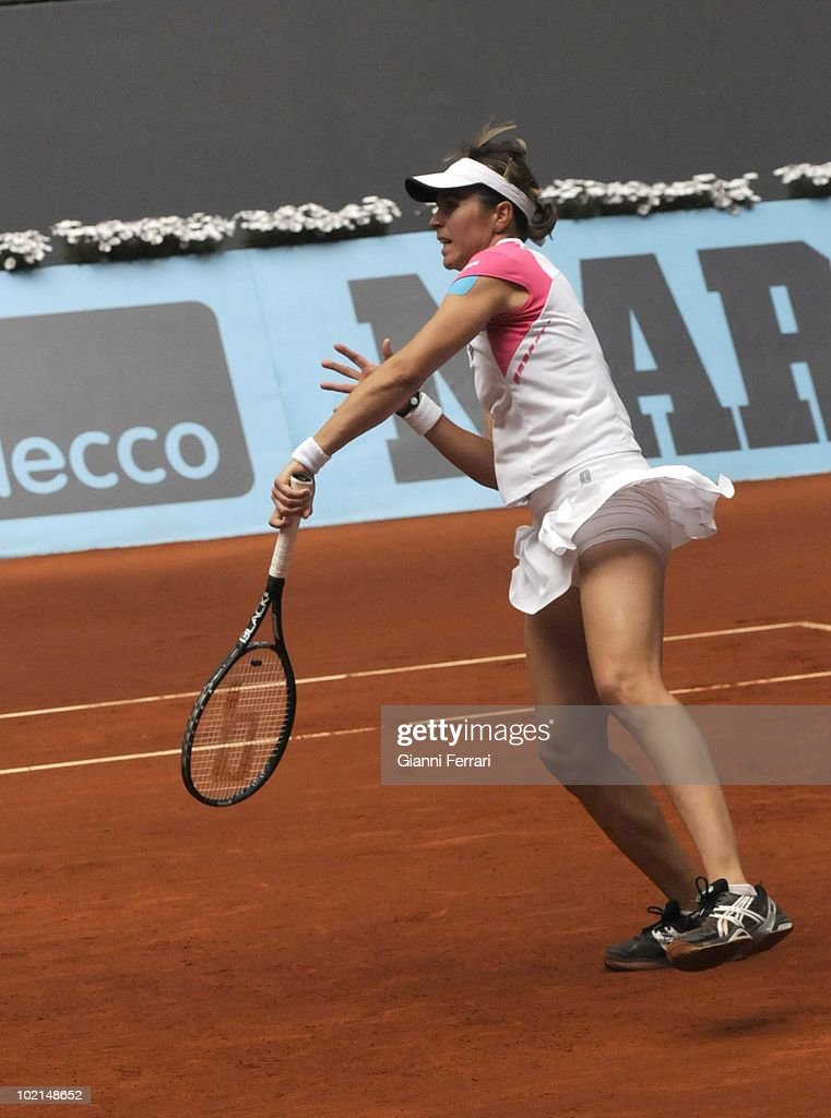 Maria Jose Martinez, ESP, in the tennis 'Mutua Madrilena Madrid Open', 8th May 2010, 'La Caja Magica', Madrid, Spain.