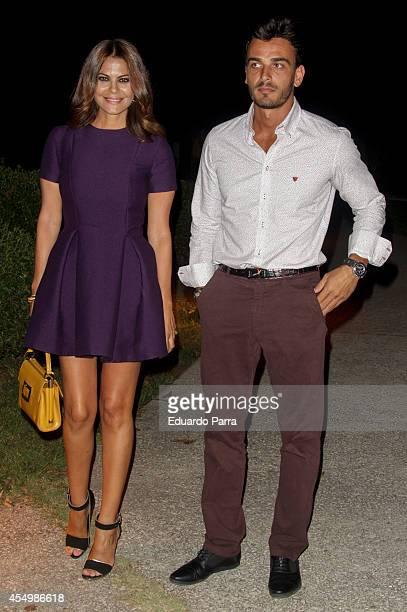 Maria Jose Suarez and Javier Lorenzana attend MFShow catwalks at Costume Museum on September 8 2014 in Madrid Spain