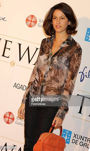 Maria Jurado attends 'The Way' premiere at Callao Cinema on November 10 2010 in Madrid Spain