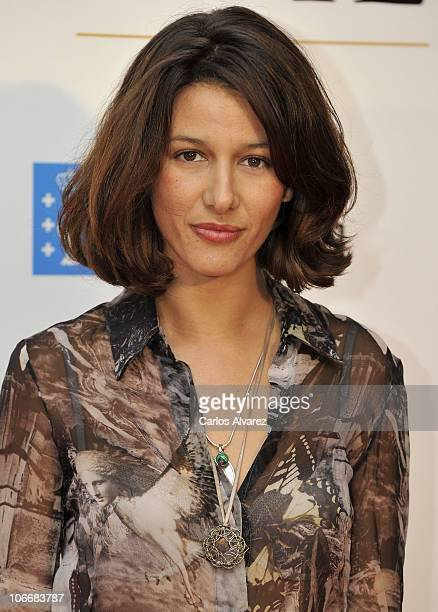 Maria Jurado attends The Way premiere at the Callao cinema on November 10 2010 in Madrid Spain