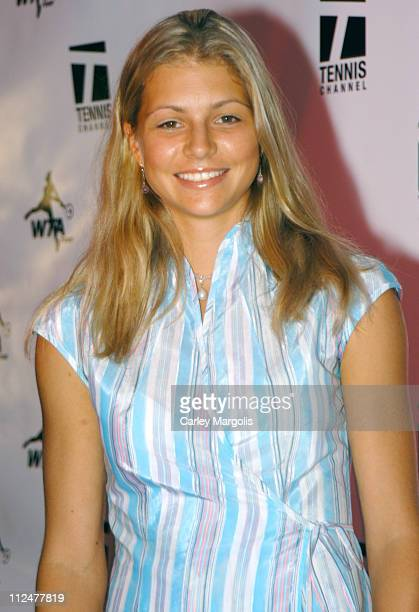 Maria Kirilenko during WTA Glam Slam New York City 2004 at Ruby Falls in New York City New York United States
