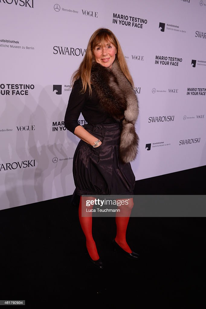 'Mario Testino: In Your Face Private View' Vernissage