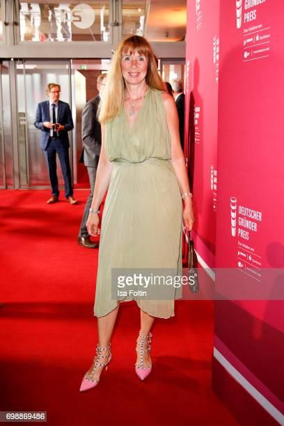 Maria Koteneva attends the Deutscher Gruenderpreis on June 20, 2017 in Berlin, Germany.