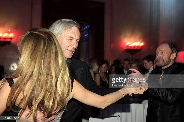 Maria Koteneva Dancing With Alexander Graf Von Hardenberg In The Fashion Gala 'Russian Spring in Berlin' In The Embassy Of The Russian Federation in...