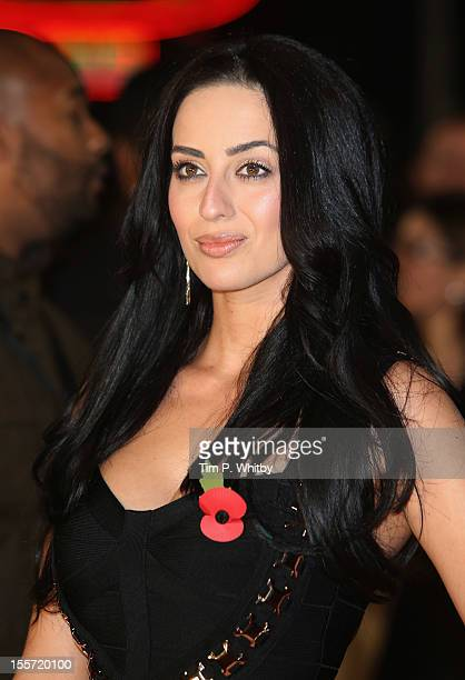 Maria Koukais attends the World Premiere of Gambit at Empire Leicester Square on November 7 2012 in London England