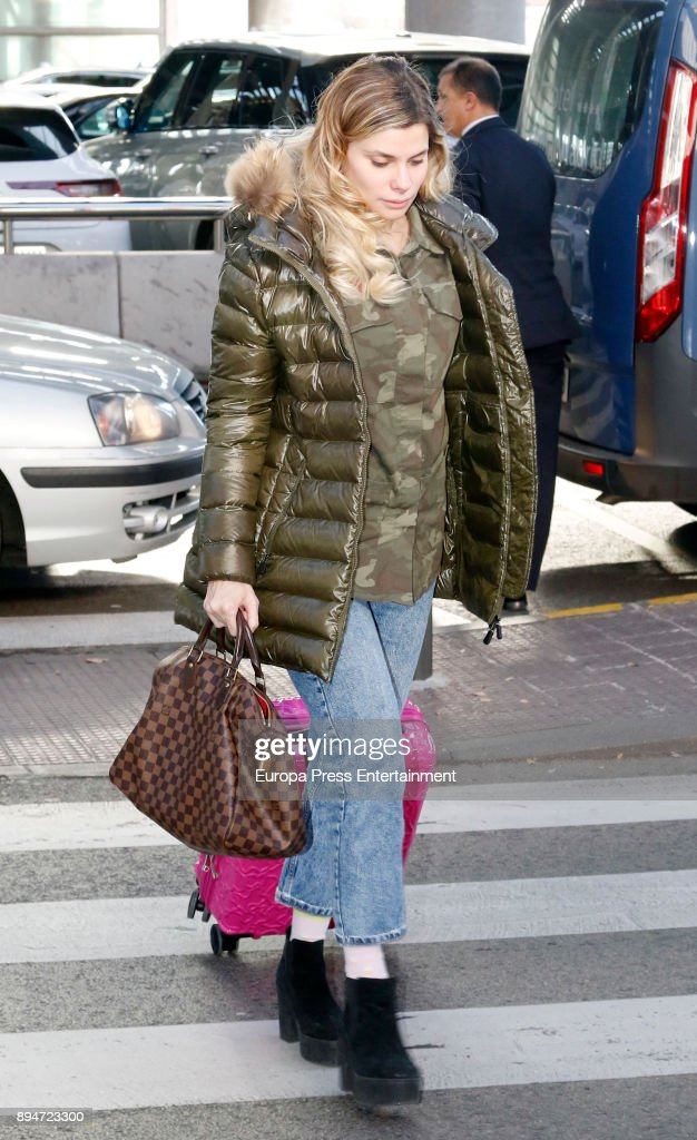 Celebrities Sighting In Madrid - December 17, 2017