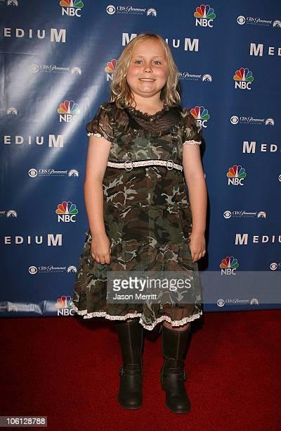 Maria Lark during NBC Hit TV Series Medium Soiree Arrivals at Stephen Cohen Gallery in Los Angeles California United States