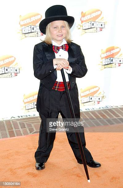 Maria Lark during Nickelodeon's 20th Annual Kids' Choice Awards Arrivals at Pauley Pavilion in Westwood California United States