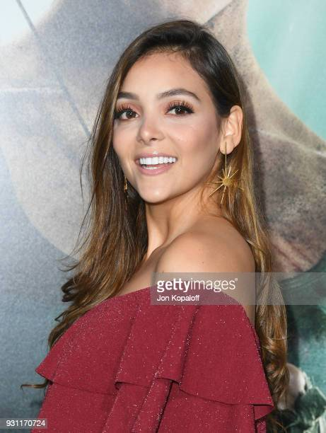 Maria Laura Quintero attends the Los Angeles Premiere 'Tomb Raider' at TCL Chinese Theatre IMAX on March 12 2018 in Hollywood California