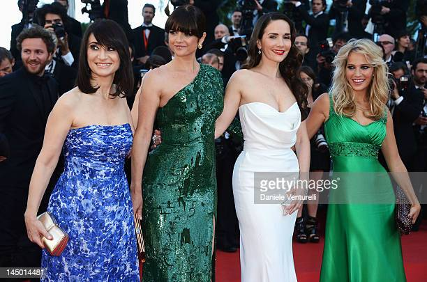 Maria Laura Santillan Araceli Gonzalez Natalia Oreiro and Luisana Lopilato attend the 'Killing Them Softly' Premiere during the 65th Annual Cannes...