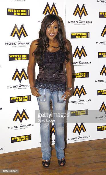 Maria Lawson during 2006 MOBO Awards Nominations Outside Arrivals at Proud Gallery in London Great Britain