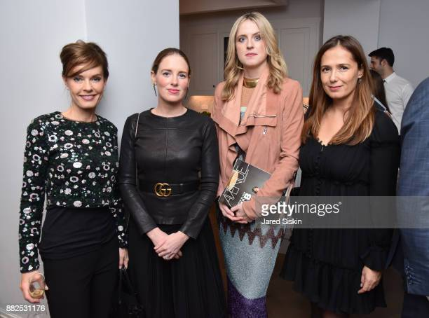 Maria Lehman Bettina Prentice Anne Huntington and guest attend AVENUE celebrates the 'Not It' Girls of the Art World on November 29 2017 at 101 West...